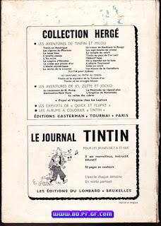 Recueil Tintin édition Belge, numéro 95, 1969