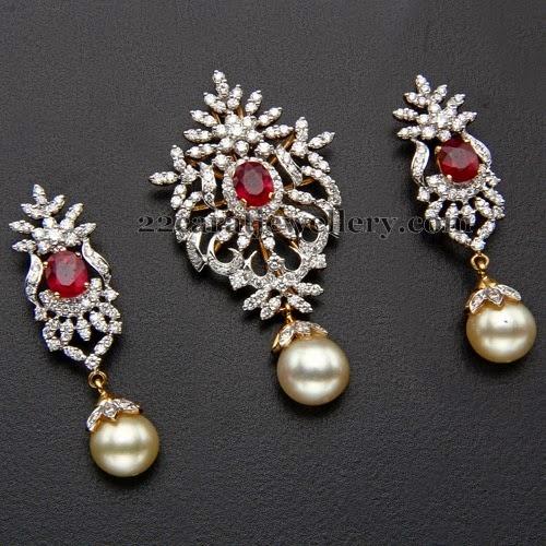 Kothari S Jewellery Diamond Locket Jewellery Designs