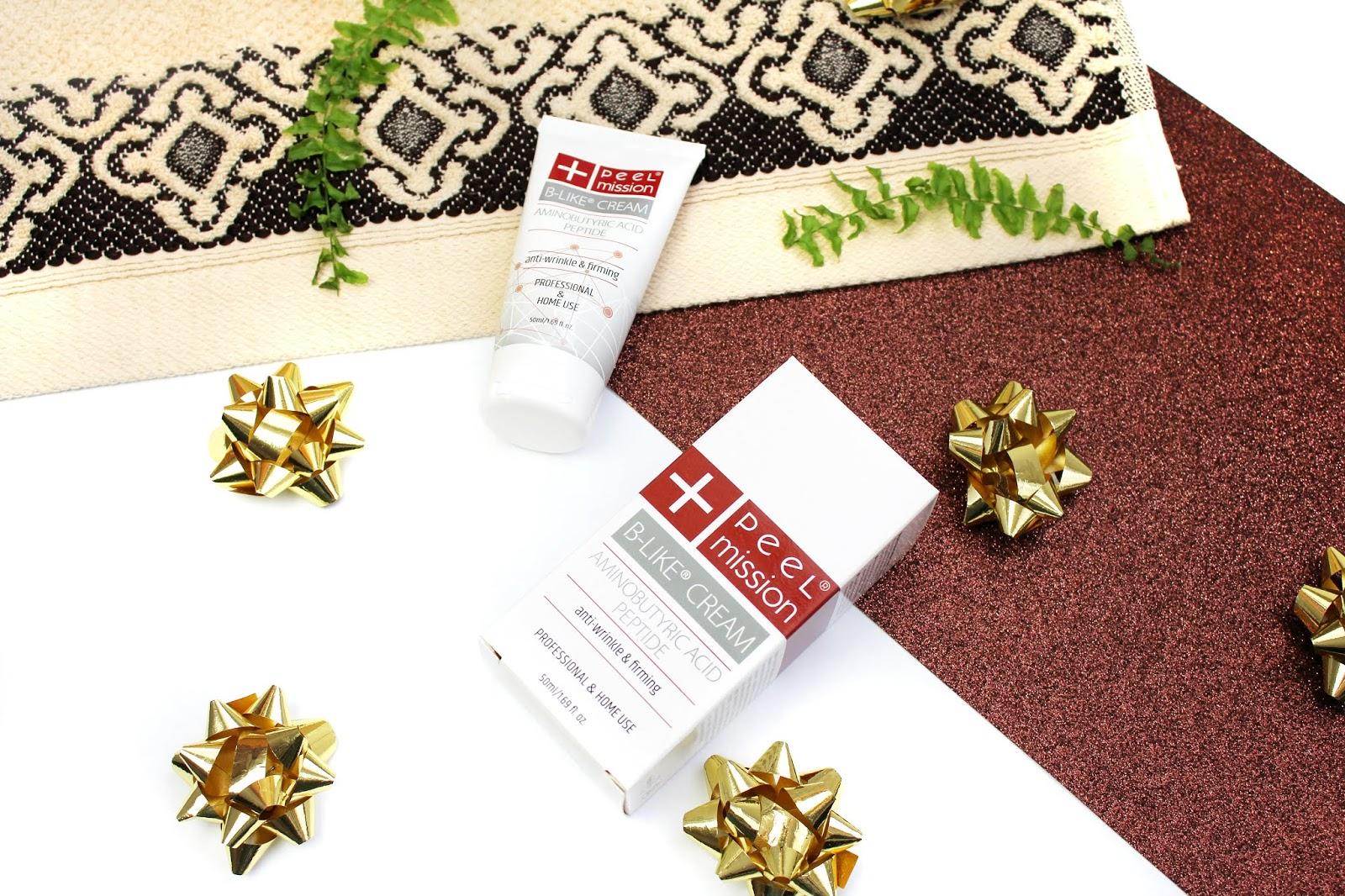 Peel Mission, B-Like Peel - Krem do walki z oznakami starzenia się skóry i redukcji zmarszczek mimicznych