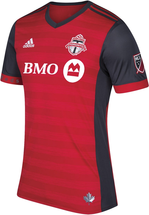 e403030167 Adidas lança a nova camisa titular do Toronto FC para a MLS 2017 ...