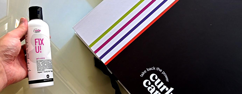 Gel Creme Fix U - Produtos Curly Care - Vegano e Liberado para Low Poo e No Poo