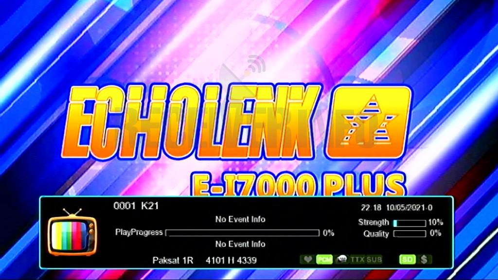 ECHOLENK E-I7000 PLUS 1506LV BUILT IN WIFI  SOFTWARE UPDATE
