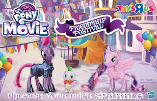 My Little Pony the Movie Friendship Festival Festival Foes Brushable Set