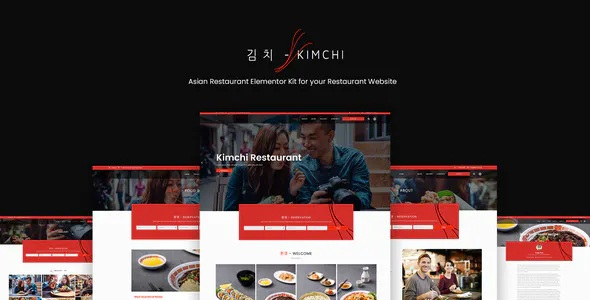 Best Restaurant and Cafe Elementor Template Kit