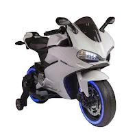 Pliko PK9800N New Ducati Battery Toy Motorcycle