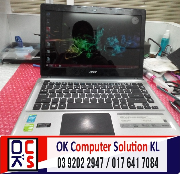 [SOLVED] AUTO SHUTDOWN ACER E1-472 | REPAIR LAPTOP CHERAS 9