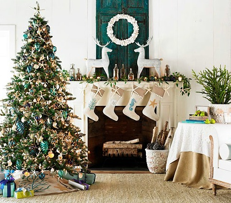 Coastal Christmas Wisteria