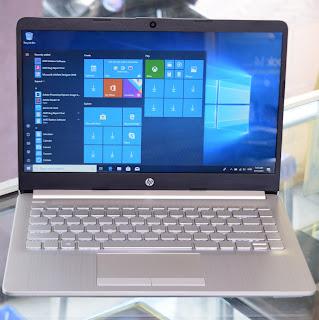 Jual Laptop HP 14s ( AMD A4-9125 ) 14-Inchi Bekas