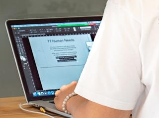 graficno oblikovanje in izdelave tiskovin