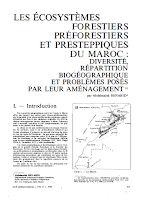 Les écosystèmes forestiers du Maroc diversité répartition biogéographique et problèmes posés par leur aménagement .pdf