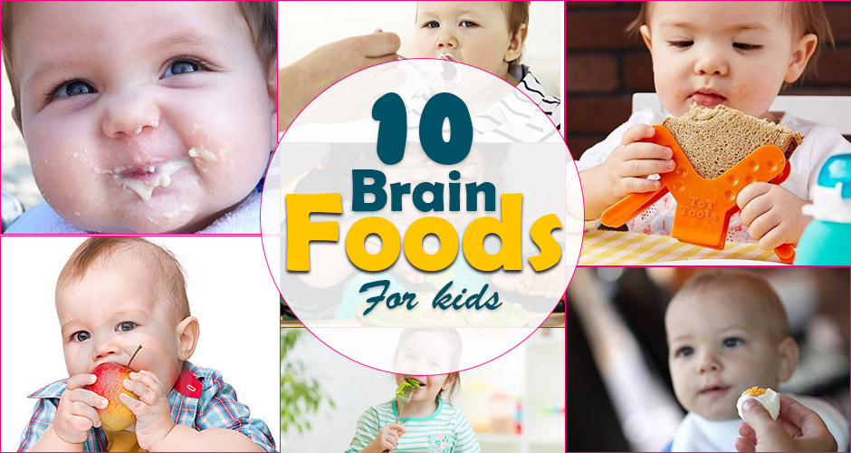 10 Foods to Boost Baby's Brain Power