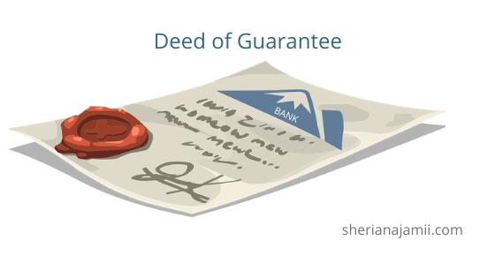 Sample of Deed of Guarantee