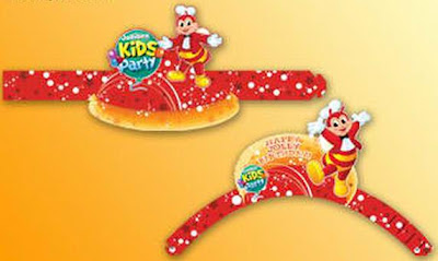 Jollibee party package - My Bestfriend Jollibee party hats