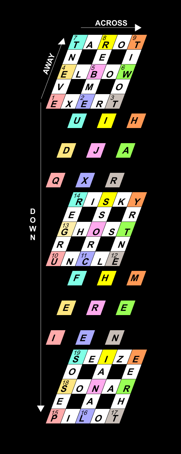 The hindu crossword corner 2016 two themed entries cross and ghost run across the centre of the central layer forming the symbol of a cross at the absolute centre of the cube is a o or 0 malvernweather Gallery