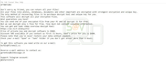 Coharos (Ransomware)