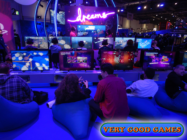 Photo report from the gaming event EGX 2019 in London - the game Dreams for PlayStation 4