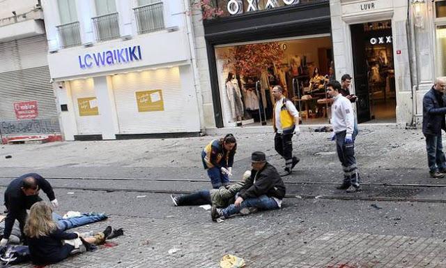 Συγκλονιστικό βίντεο: Η στιγμή της έκρηξης στην Κωνσταντινούπολη (video)