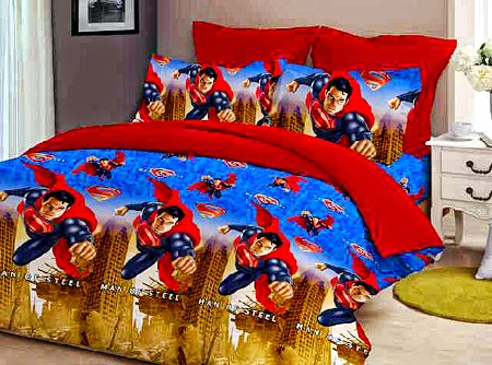 Sprei motif Superman
