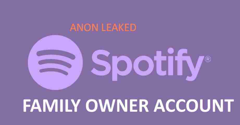 100x Free Accounts Spotify Premium Family Owner (Active+