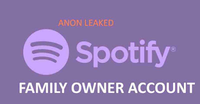 100x Free Accounts Spotify Premium Family Owner (Active+Working)