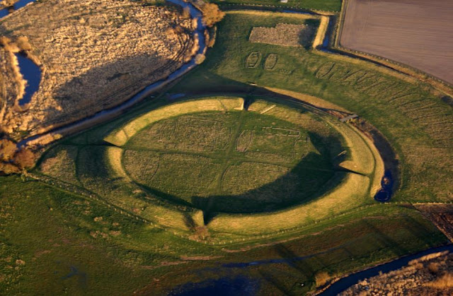 Danish Viking fortresses were designed to fend off other Vikings