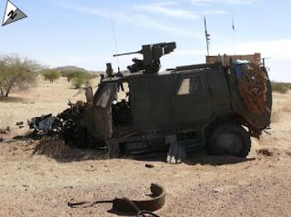 MPPV Dingo 2 Belgia Terkena IED di Mali