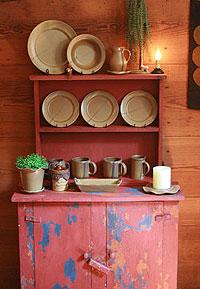 emerson creek pottery go green line plates