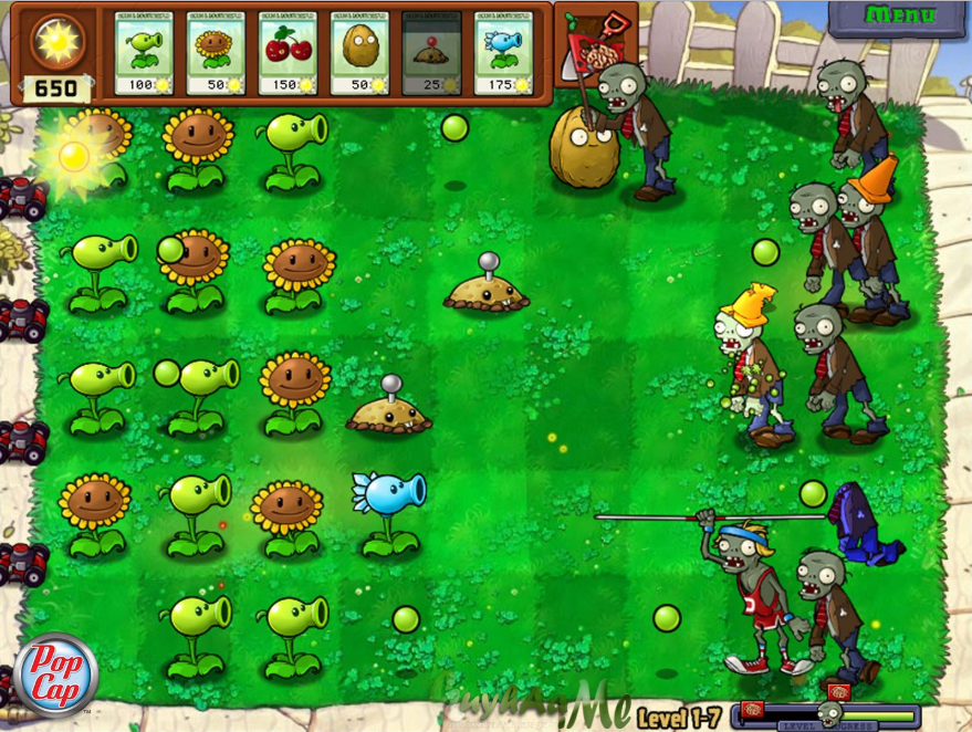 Plants vs. Zombies kuyhaa