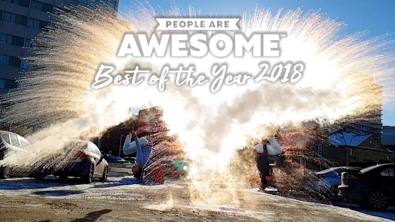 People Are Awesome - Best of the Year 2018 : 2018年の特にスゴかった人たちをまとめた年間総集編のビデオ ! !