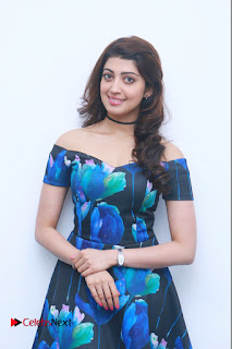Actress Praneetha Latest Stills in Floral Short Dress at Enakku Vaaitha Adimaigal Press Meet  0003.jpg