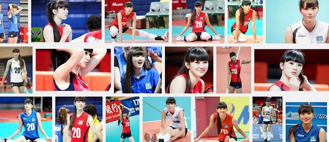 Kabar mengejutkan dari Sabina atlet Volley Cantik asal Kazahkstan