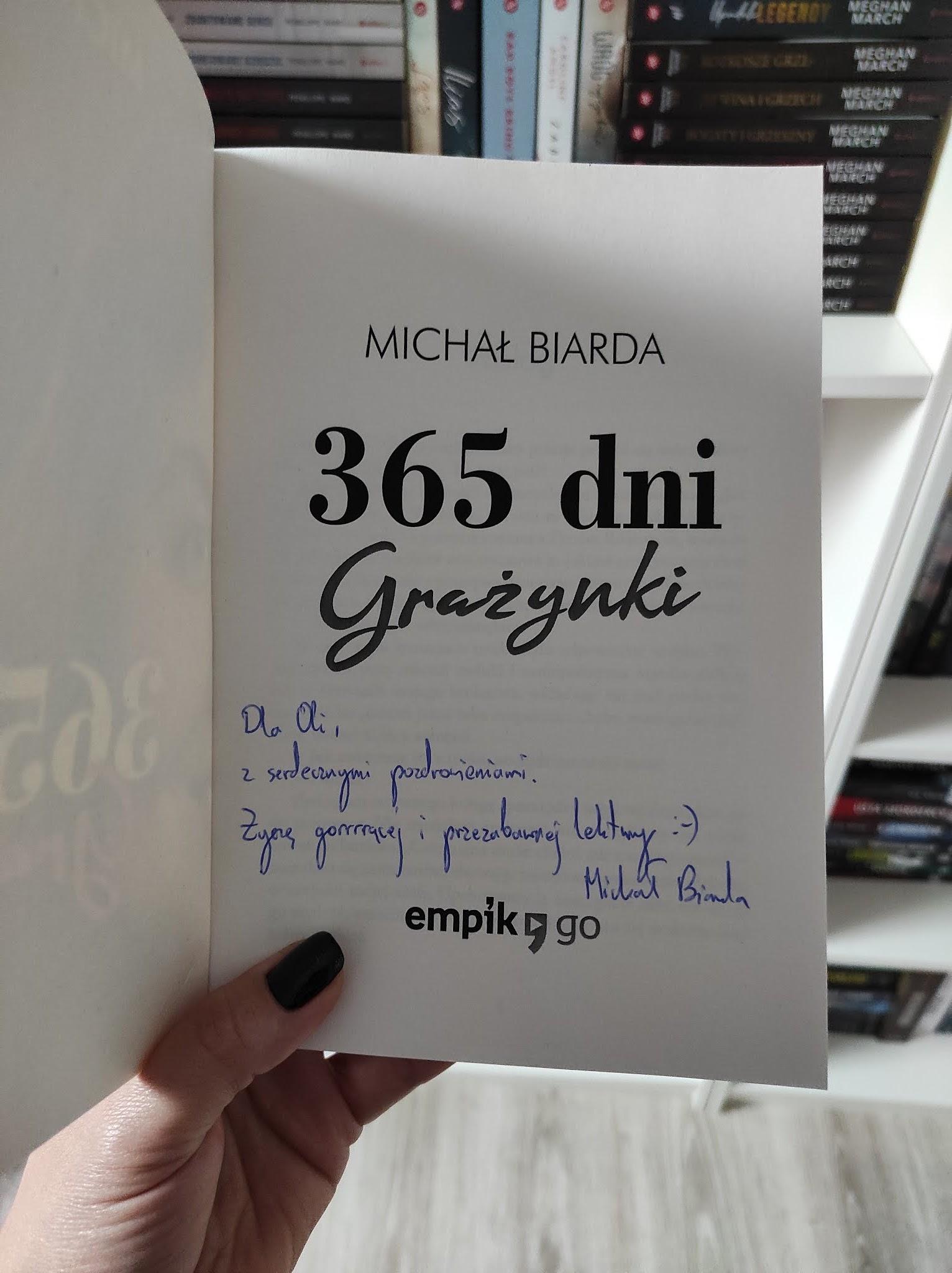 """365 dni Grażynki"" Michał Biarda - recenzja"