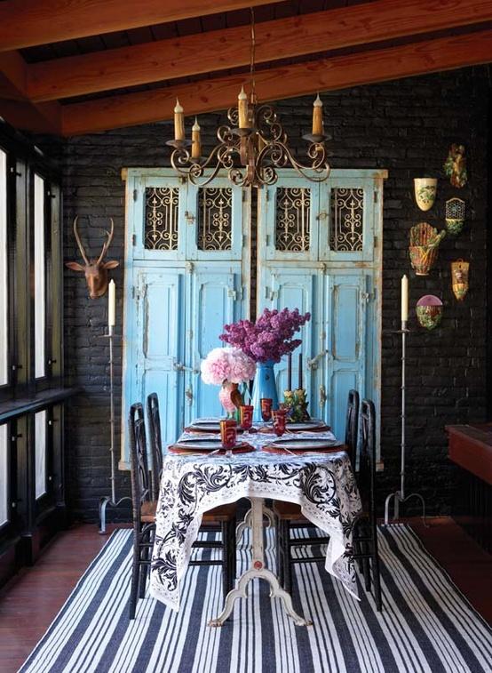 el estilo boho deco chic c mo identificarlo y conseguir. Black Bedroom Furniture Sets. Home Design Ideas