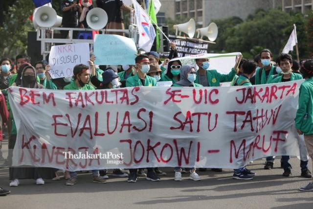 Survei Membuktikan Demonstrasi di Era Jokowi Dirasa Semakin Sulit
