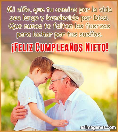 imágenes de feliz cumpleaños nieto
