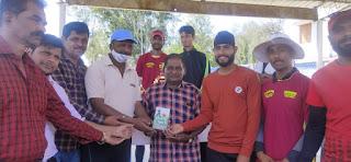 यूनिक क्रिकेट एकेडमी परासिया जीत के साथ फाइनल में