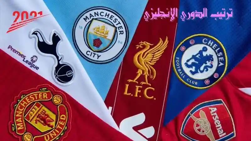 ترتيب الدوري الإنجليزي - الجولة التاسعة والعشرين
