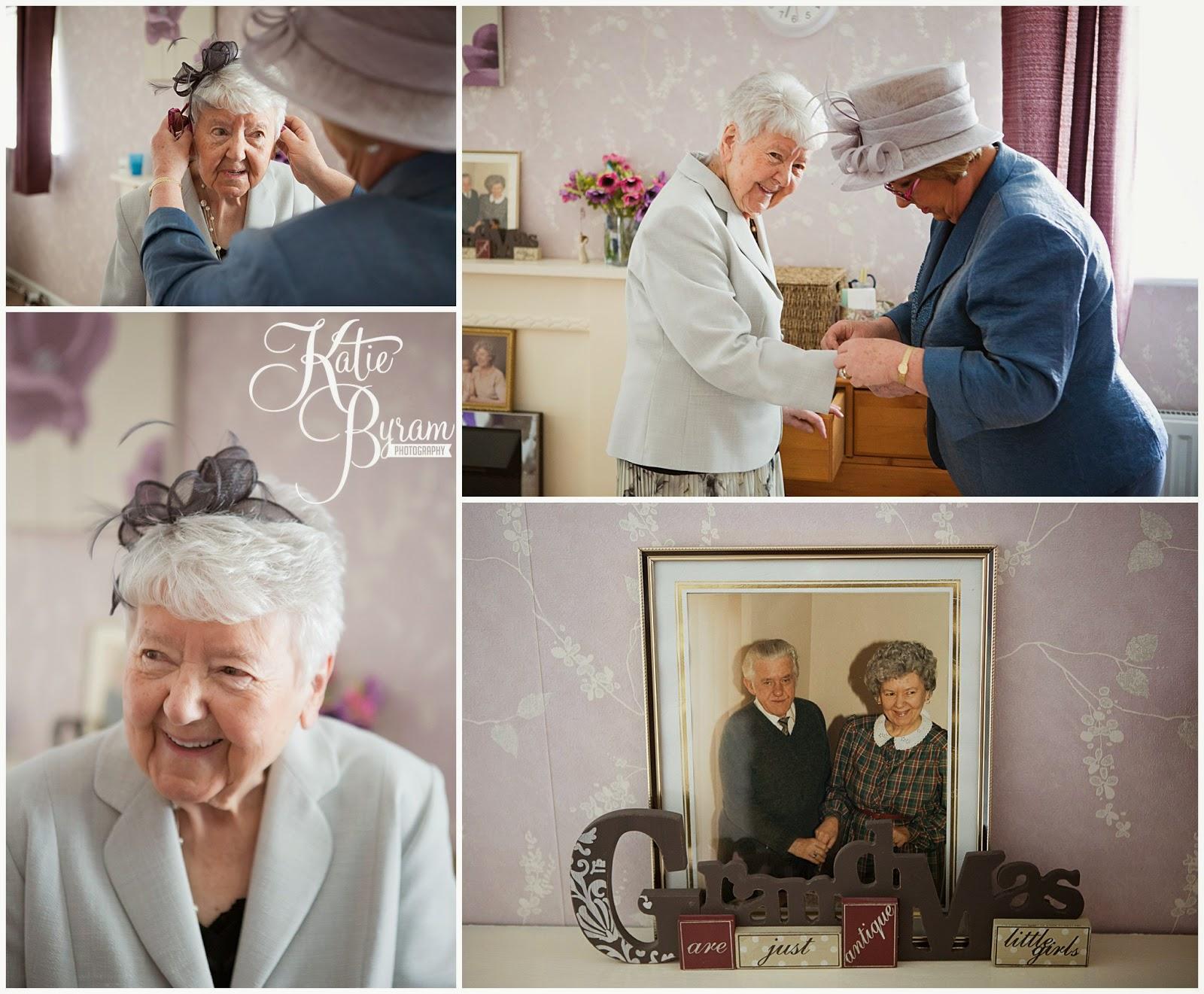 grandma wedding day