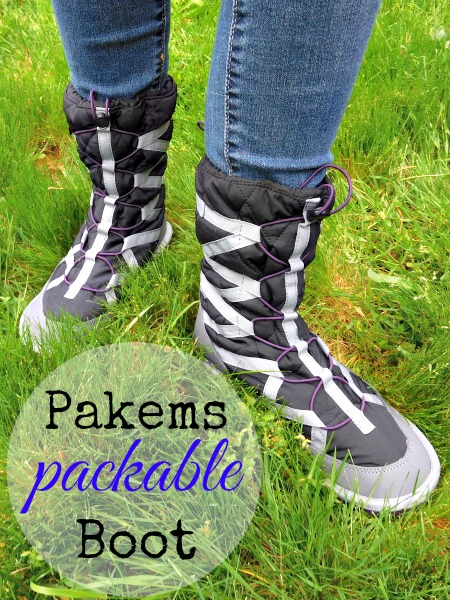 packable snow boot