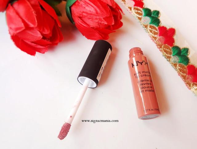 NYX Soft Matte Lip Cream in shade Cannes