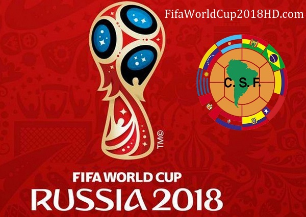 FIFA World Cup 2018 Qualification CONMEBOL Matches Fixtures, Results