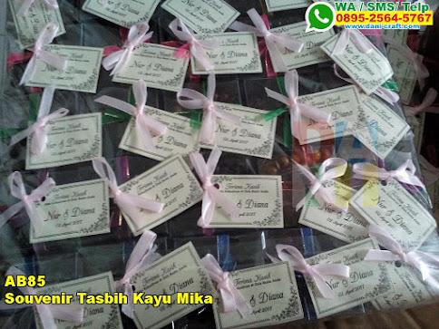 Toko Souvenir Tasbih Kayu Mika
