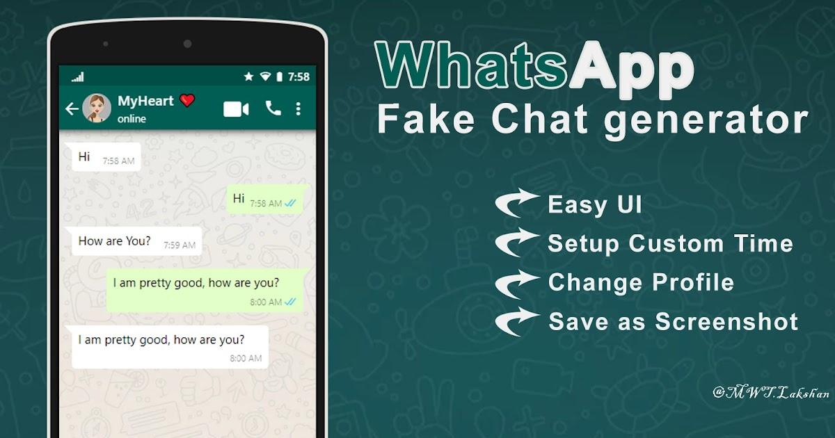 Fake App Whatsapp
