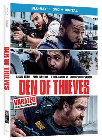 Den of Thieves 2018 480p 500MB BRRip Dual Audio [Hindi - English]