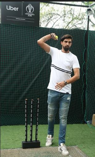 Ishant Sharma announces Uber's new campaign #ParksNotParking