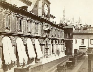 piazza mercanti milano duomo porta pescheria