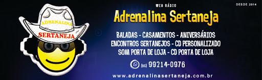 WEB RADIO ADRENALINA SERTANEJA