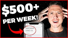 How To Make $500 PER WEEK And Make Money Online Fast In 2020