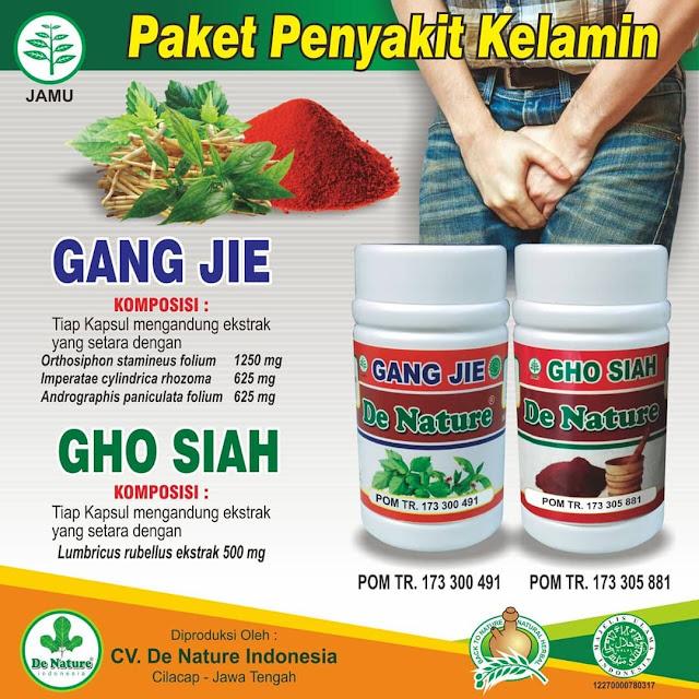 Obat Kencing Nanah Gang Jie dan Gho Siah