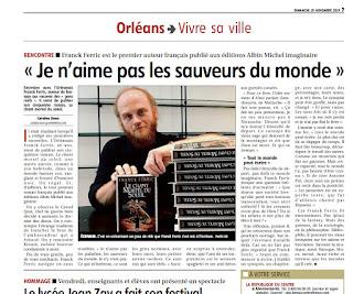 Franck Ferric dans la République du Centre (10-11-2019)